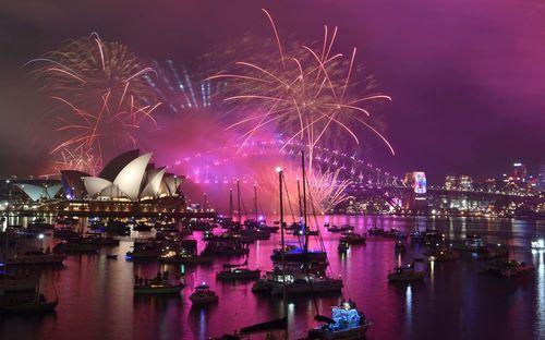 لحظه تحویل سال 2019 در سیدنی/ استرالیا