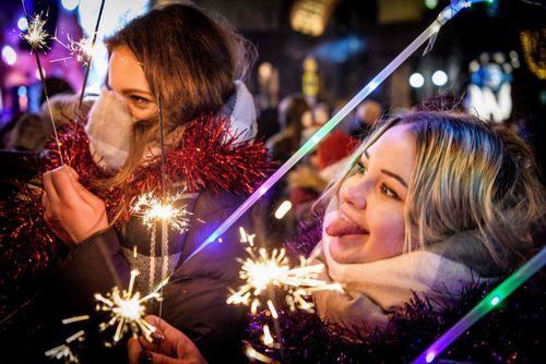 آتش بازی دو زن در مسکو/ روسیه