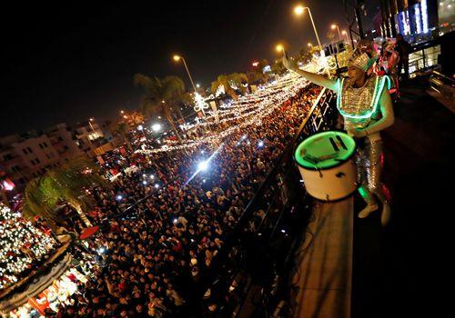 جشن سال جدید در قاهره/ مصر