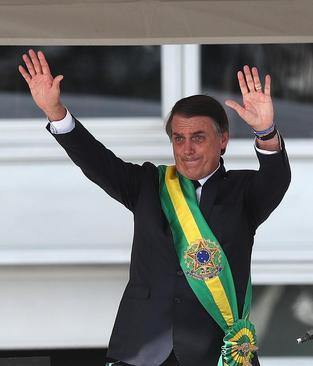 مراسم تحلیف رییس جمهوری جدید برزیل موسوم به