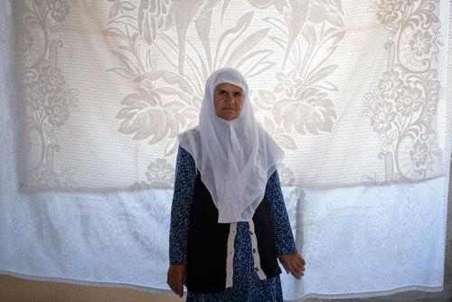 فاطمه دوستی از روستای بُجد است