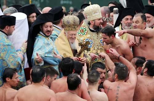 مراسم عید پاک -زاد روز مسیح- در میان مسیحیان ارتدوکس در ترکیه/ رویترز