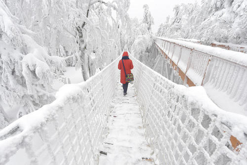 بارش برف در جمهوری چک