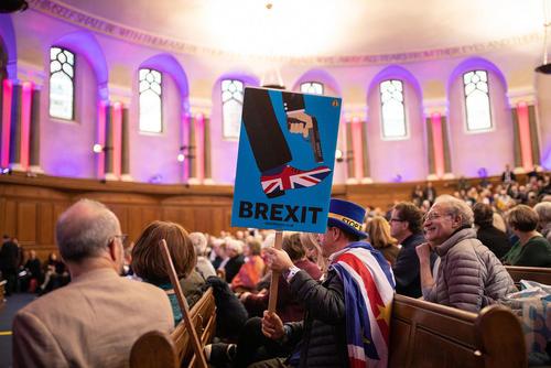 گردهمایی مخالفان خروج بریتانیا از اتحادیه اروپا در لندن