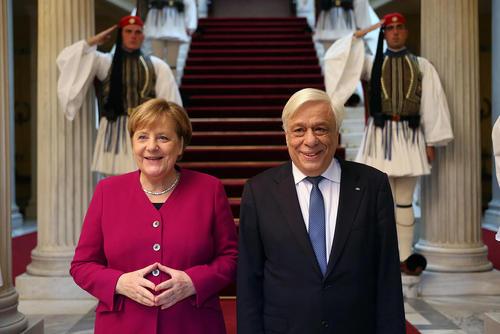 استقبال رییس جمهوری یونان از