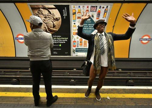 روز جهانی بدون شلوار در متروهای سراسر دنیا عکس ها از: آسوشیتدپرس، گتی ایمجز و EPA