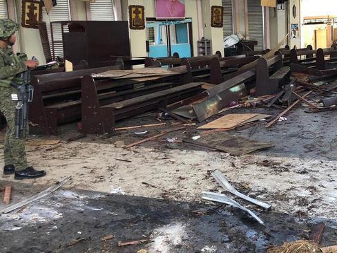 حمله تروریستی به کلیسایی در فیلیپین/ شینهوا