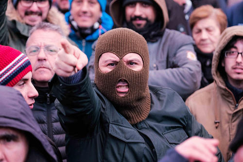 بیستمین روز از اعتصاب سراسری رانندگان تاکسی در شهر مادرید اسپانیا