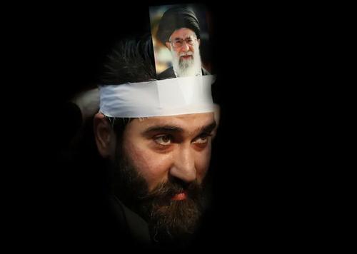 گردهمایی حامیان حزب الله لبنان به مناسبت چهلمین سالگرد پیروزی انقلاب اسلامی در ایران. این گردهمایی دیروز با سخنرانی تلویزیونی