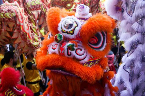جشن سال نو چینی در شهر