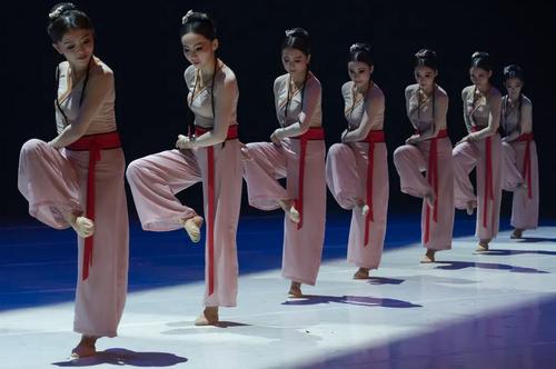 اجرای حرکات نمایشی یک گروه چینی به مناسبت سال نو چینی در بوداپست مجارستان