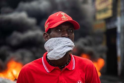 تظاهرات سراسری بر ضد رییس جمهوری هاییتی در شهر