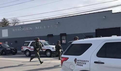 6 کشته در جریان تیراندازی یک فرد مسلح در کارخانهای در ایالت