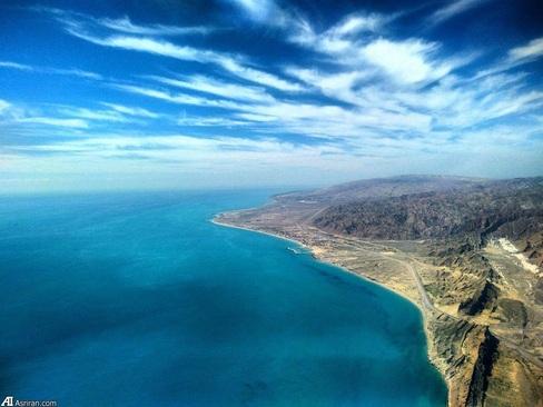 ساحل بندر چارک هرمزگان