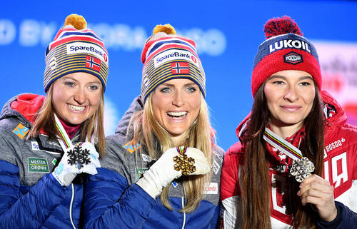 برندگان نروژی و روسی مسابقات جهانی اسکی زنان در اتریش/ خبرگزاری آلمان