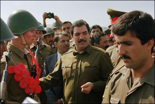 نجیبالله، واپسین رئیس جمهوری دولت به اصلاح کمونیستی افغانستان
