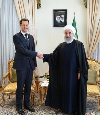 روحانی در دیدار بشار اسد: همچون گذشته در کنار مردم و دولت سوریه خواهیم بود
