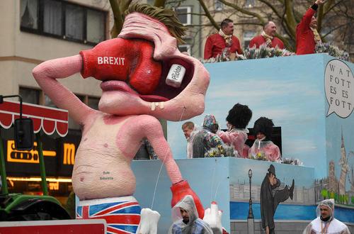 کارناوال خیابانی سالانه در کلن آلمان/ خبرگزاری آلمان