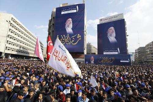 گردهمایی شیعیان در سالگرد ترور