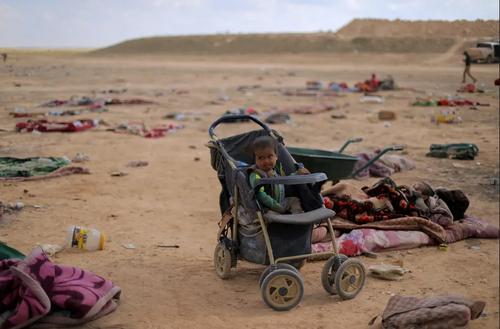 خانوادههای گریخته از منطقه تحت تسلط داعش در شهر