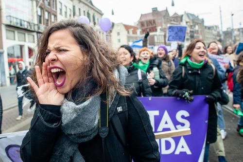 تظاهرات بر ضد خشونت علیه زنان در شهر
