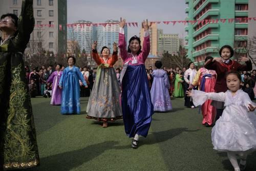 جشن و شادی در روز برگزاری انتخابات