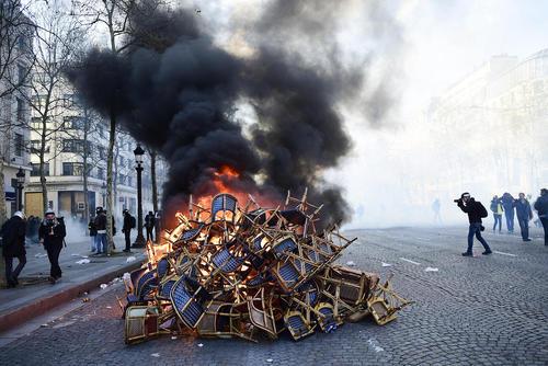 تظاهرات کنندگان ضد حکومتی موسوم به