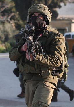نظامیان اسراییلی در روستای