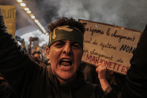 تظاهرات علیه رییس جمهوری الجزایر در شهر