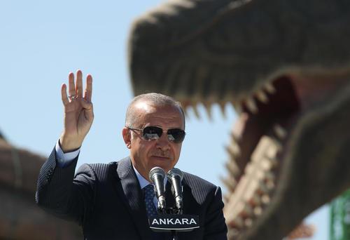 اردوغان در آیین افتتاح یک پارک بزرگ 400 میلیون دلاری در شهر آنکارا