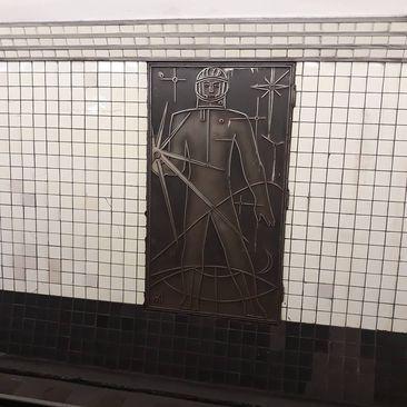 آثاری به جای شوروی در مترو مسکو