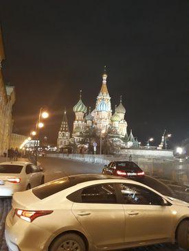 میدان سرخ. مسکو