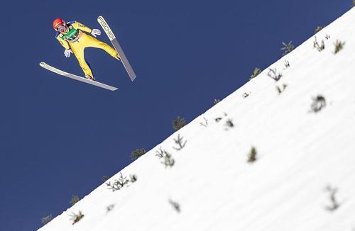 فینال مسابقات جهانی اسکی پرش در کشور اسلوونی