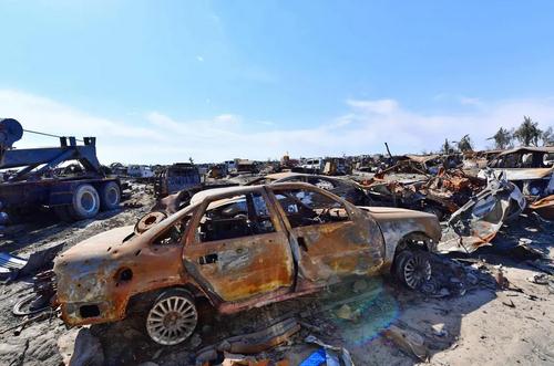 تلفات گروه تروریستی داعش در شهر باغوز سوریه/ خبرگزاری فرانسه