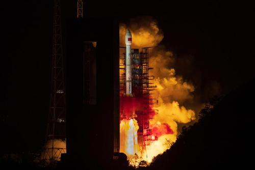 پرتاب ماهواره چینی از استان
