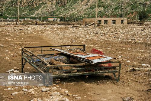 لرستان؛ روستایی که همه خانههای آن را سیل برد (عکس) - 3