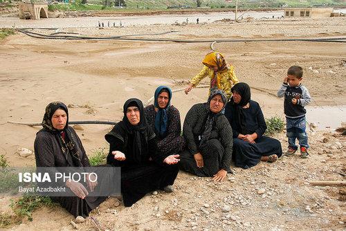 لرستان؛ روستایی که همه خانههای آن را سیل برد (عکس) - 4