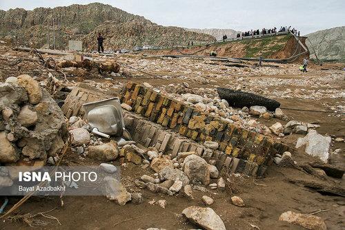 لرستان؛ روستایی که همه خانههای آن را سیل برد (عکس) - 5