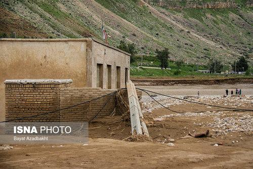 لرستان؛ روستایی که همه خانههای آن را سیل برد (عکس) - 7