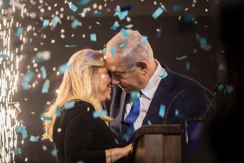 جشن پیروزی نتانیاهو در انتخابات سراسری اسراییل/ خبرگزاری آلمان