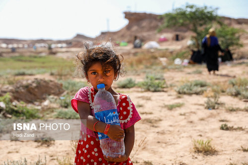 تصاویر/ کودکان سیلزده حمیدیه خوزستان