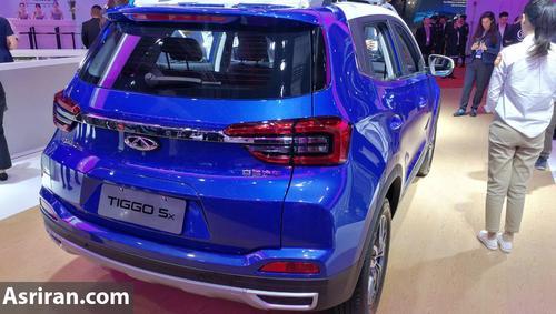 خودروی جدید X55 در نمایشگاه بین المللی چین+تصاویر