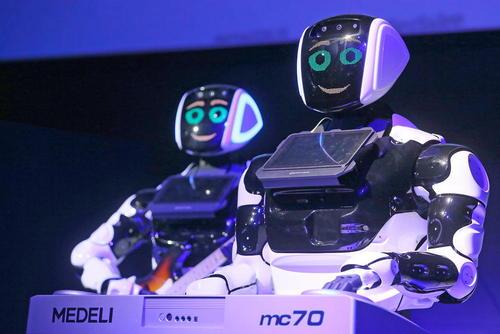 نمایشگاه روباتها در مسکو روسیه/ ایتارتاس