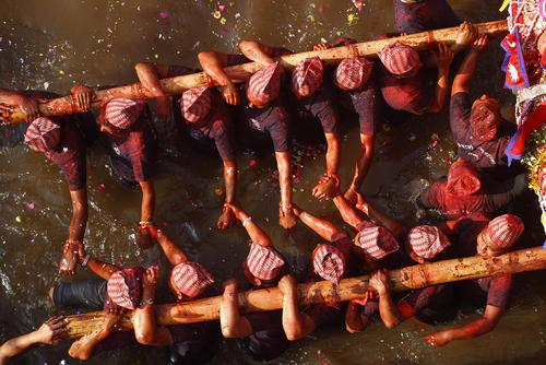 جشنوارهای آیینی در کاتماندو نپال