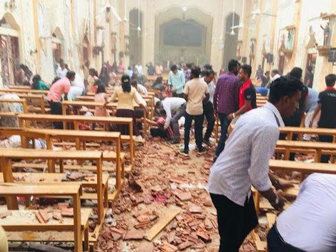 ۲۰ کشته و ۲۸۰ زخمی در ۶ انفجار سریلانکا - 4
