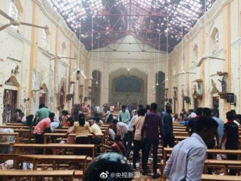۲۰ کشته و ۲۸۰ زخمی در ۶ انفجار سریلانکا - 5