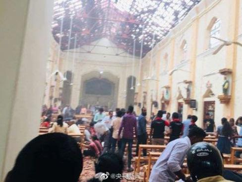 ۲۰ کشته و ۲۸۰ زخمی در ۶ انفجار سریلانکا - 8