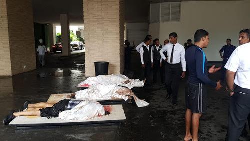 ۲۰ کشته و ۲۸۰ زخمی در ۶ انفجار سریلانکا - 10
