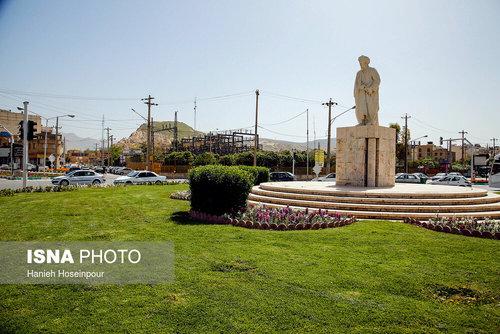 محله سعدیه در روز سعدی (عکس)