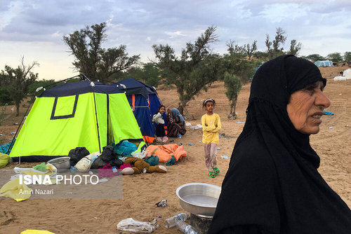 مردم سیلزده روستای خسرج حمیدیه ۳ هفته بعد از سیل (عکس) - 2